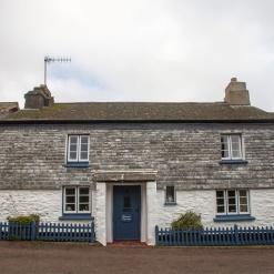 Listed Building, slate hanging and workwork